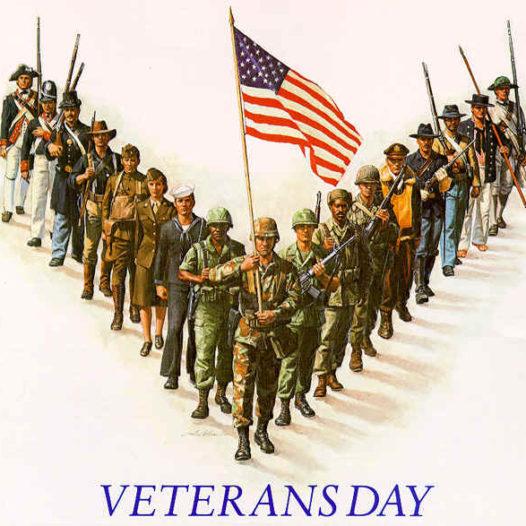 Veteran's Day Program – Nov 10th