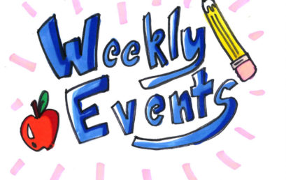 Happening This Week May 21st – 25th