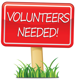 Adult Volunteers Needed for Jan 8 & 9