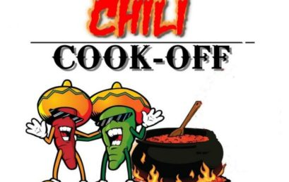 Annual Chili Cookoff – Thurs Feb 1st