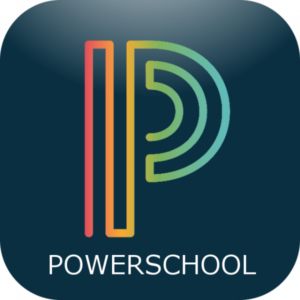 Powerschool Icon, click here to navigate to powerschool