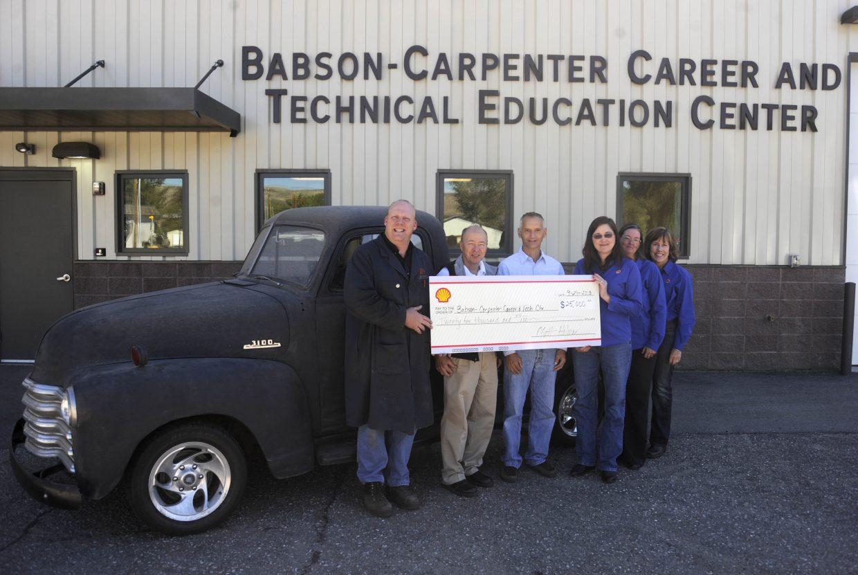Babson Carpenter career and technical Education Center entrance
