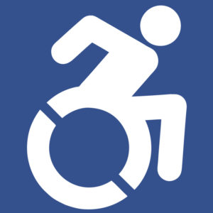 Accessible Icon, Link to Accessibility and Privacy