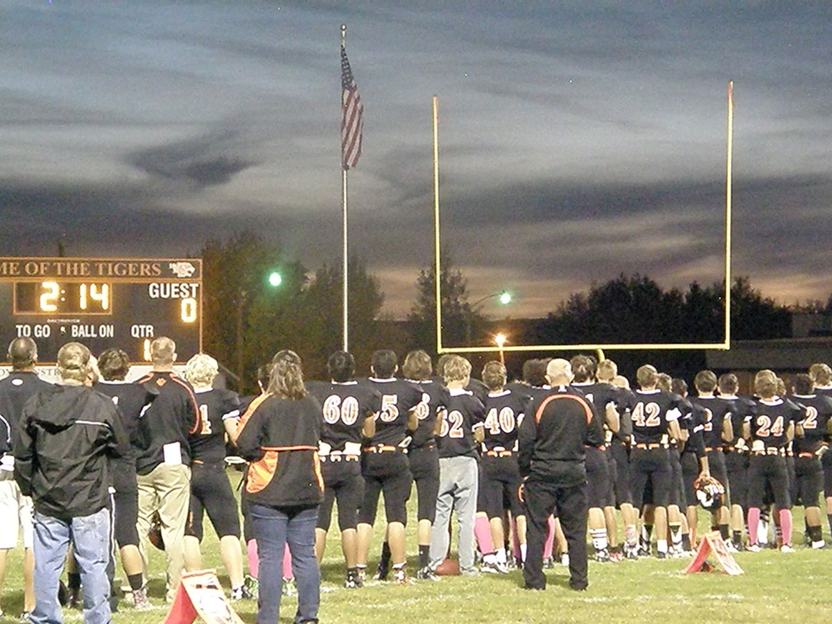 National Anthem HS Football