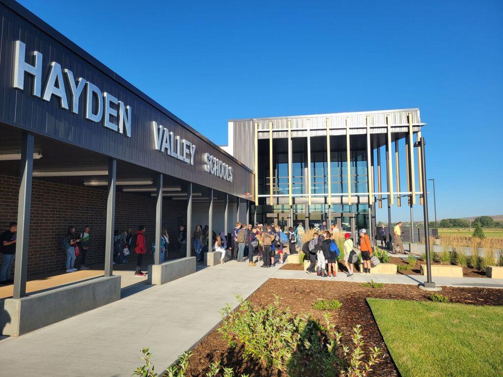 Hayden Valley Schools Front Entrance